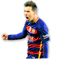 Messi FIFA 16 Team of the Season Gold