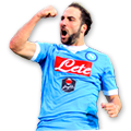 Higuaín FIFA 16 Team of the Season Gold