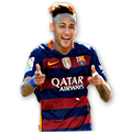Neymar FIFA 16 Team of the Season Gold