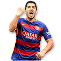 Suárez FIFA 16 Team of the Season Gold