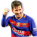 Messi FIFA 16 Team of the Year