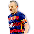 Iniesta FIFA 16 Team of the Year