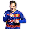 Messi FIFA 16 Team of the Week Gold